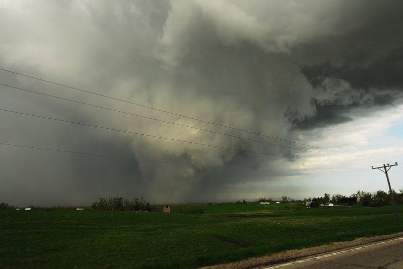 Severe T-Storm near Wilcox