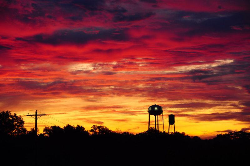 Double Tower Sunrise