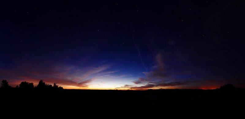 Deep Sunset Panorama