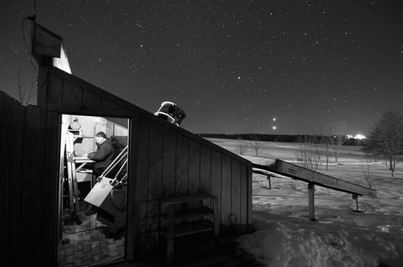 Observatory in Winter