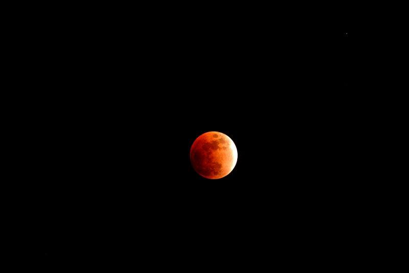 Lunar Eclipse (Wide Angle)