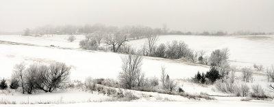Cold Winter Landscape