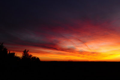 Sunset Colors in the Southwestern Sky