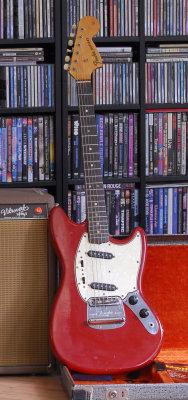 1963 Fender Vibroverb & 1966 Fender Mustang