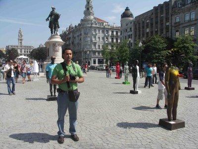 Visita a Porto, Portugal