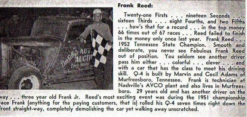 In Memory of Frank Reed