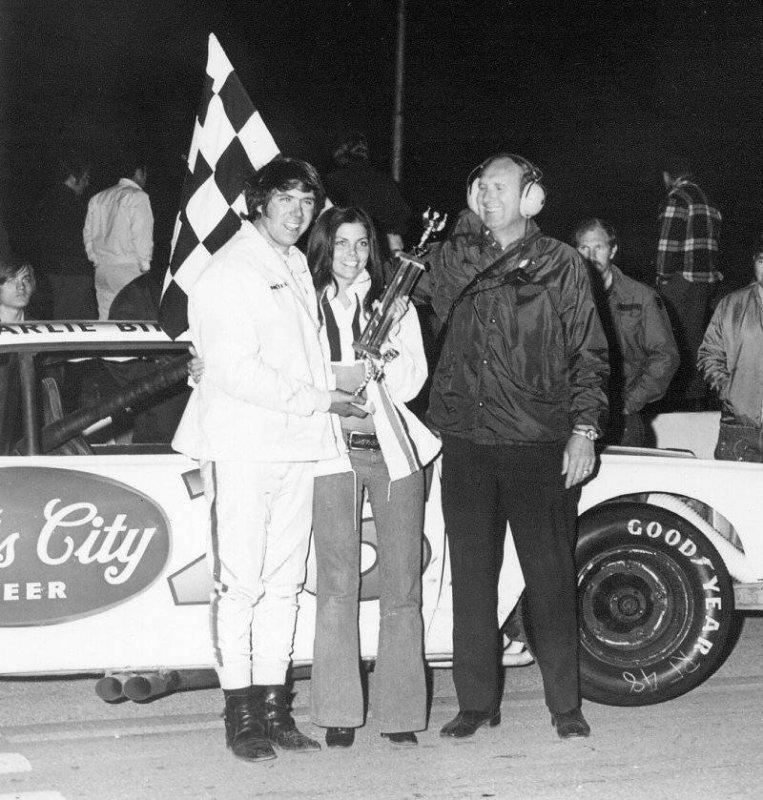 Darrell Waltrip and Judy Frensley
