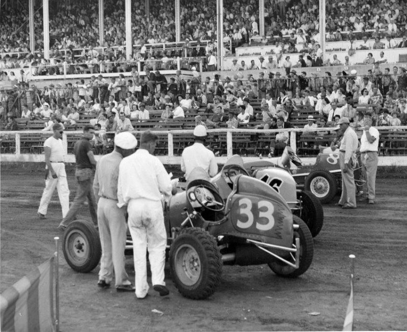 Sprint Car Race 1949