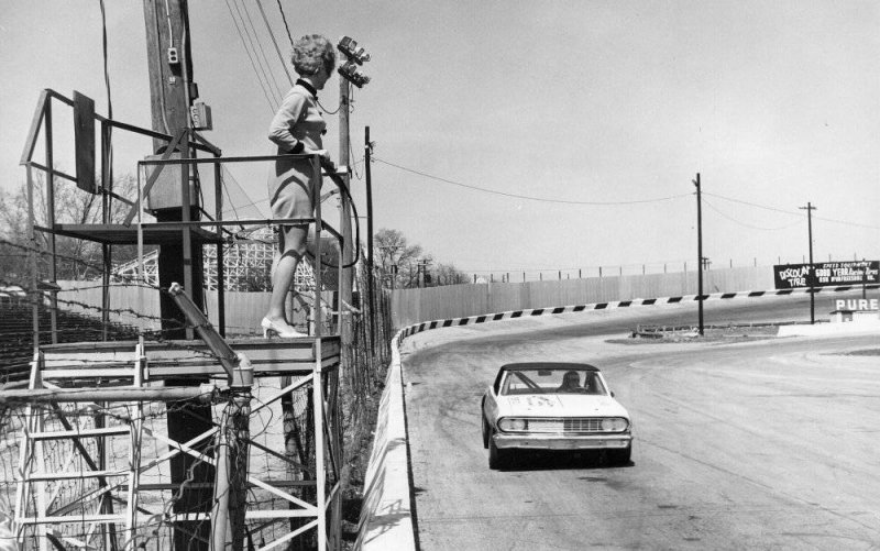 Nashville High Bank Track 1969