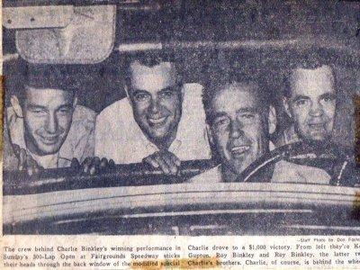 Binkley Bros. Racing
