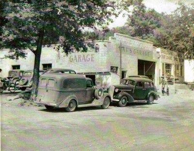 Oats Garage July 14 1947