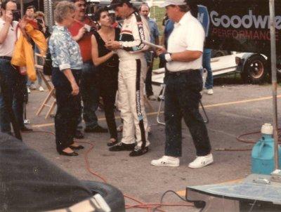 Dale Earnhardt  @ the fairgrounds 1990