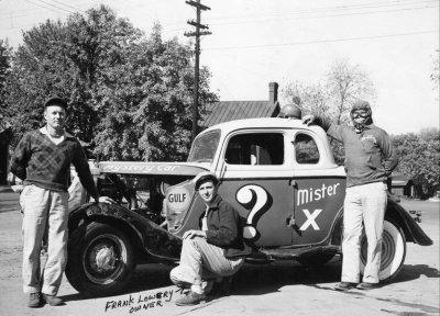 1949 Mystery car.