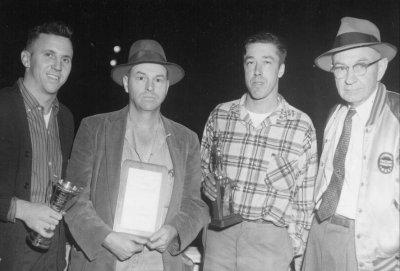 1957 Eddie Mitchell, Malcolm Brady awards