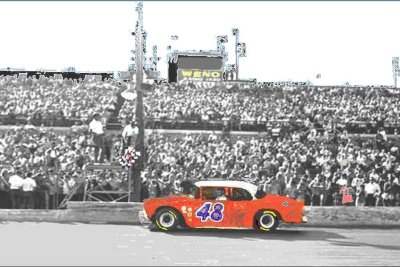Freddy Fryar  winning the Southern 300. 1967