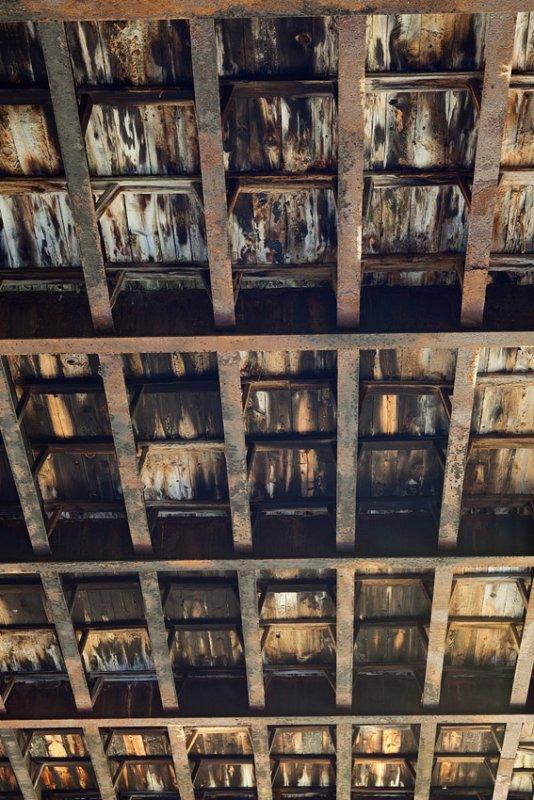 Underside of Abandoned Trestle