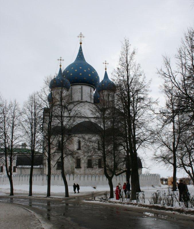The Suzdals  Kremlin