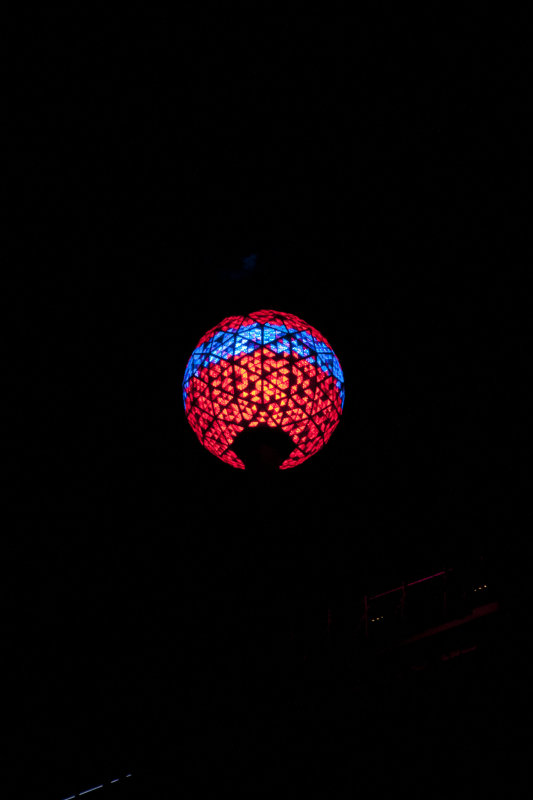 The Famous New Years Ball in Times Square