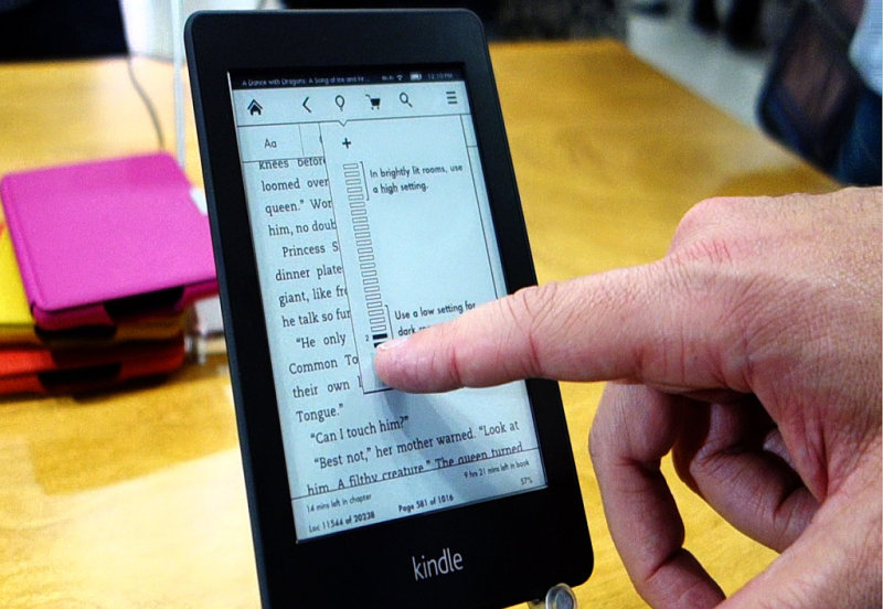 From my <a href=http://bit.ly/kpaperw-demo target=_blank><u>video</u></a> of a Kindle Paperwhite demo
