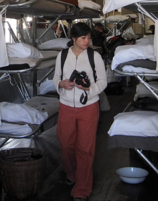 Sad to realize what detainees went through, unlike Ellis Island visitors