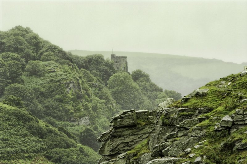 Castle in the Valley of the Rocks