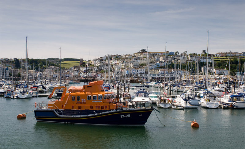Lifeboat at Brixham