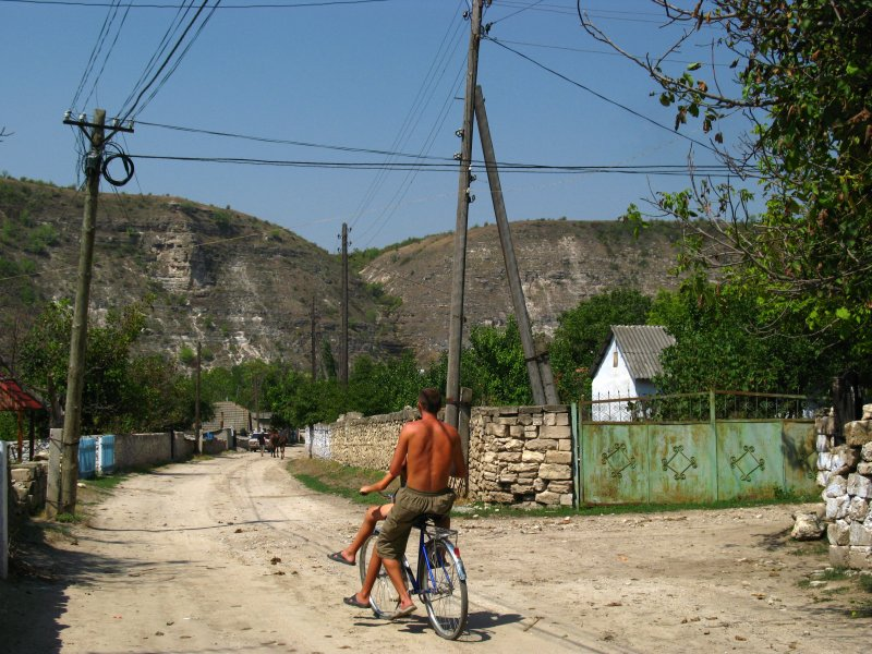 Doubling up on a bike, Butuceni
