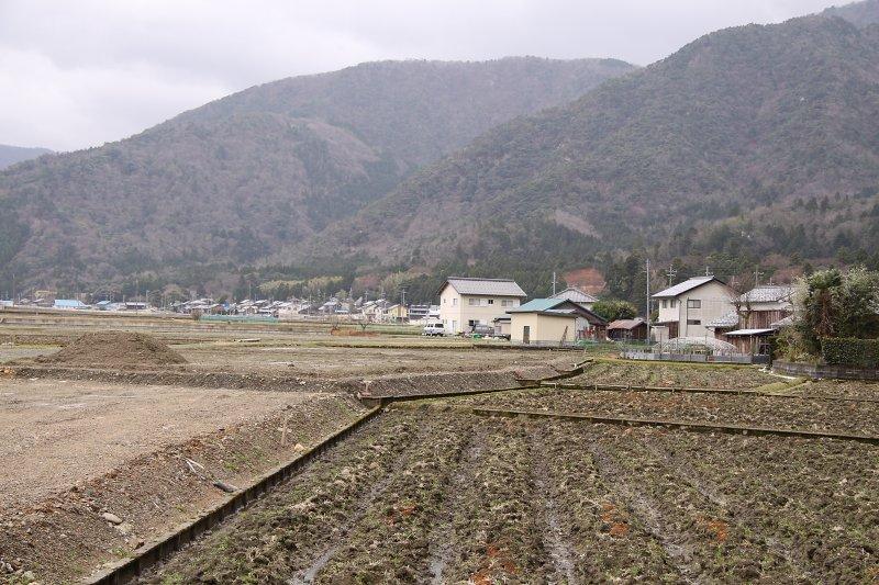 Rural scenery in the Higashi-Obama area