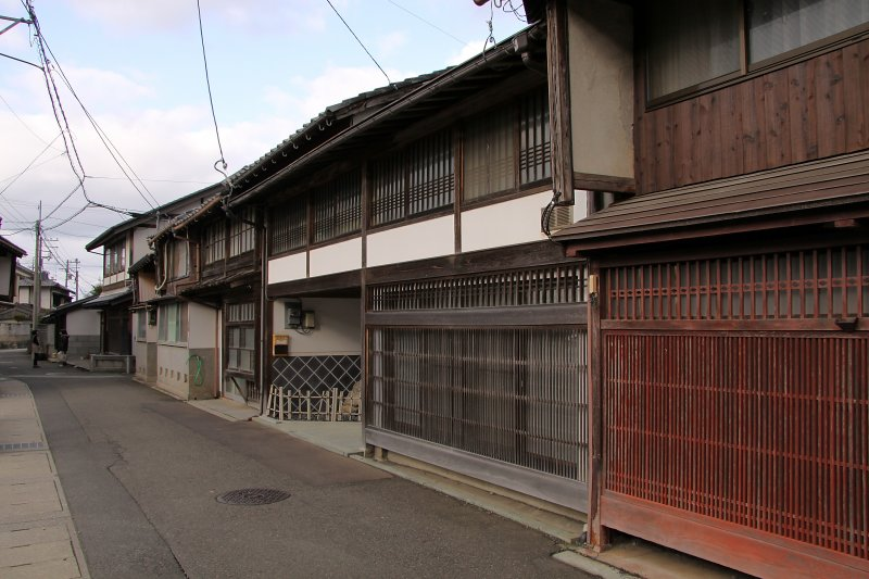 Old houses in Sanchō-machi
