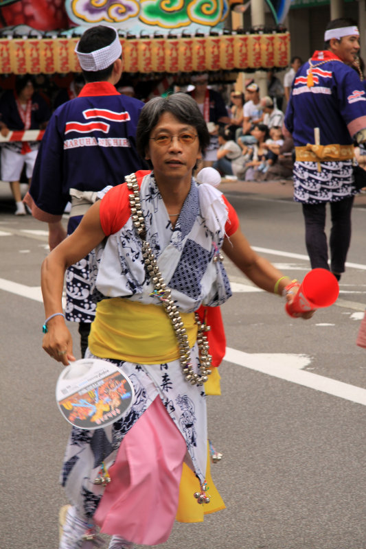 Dancer in yukata
