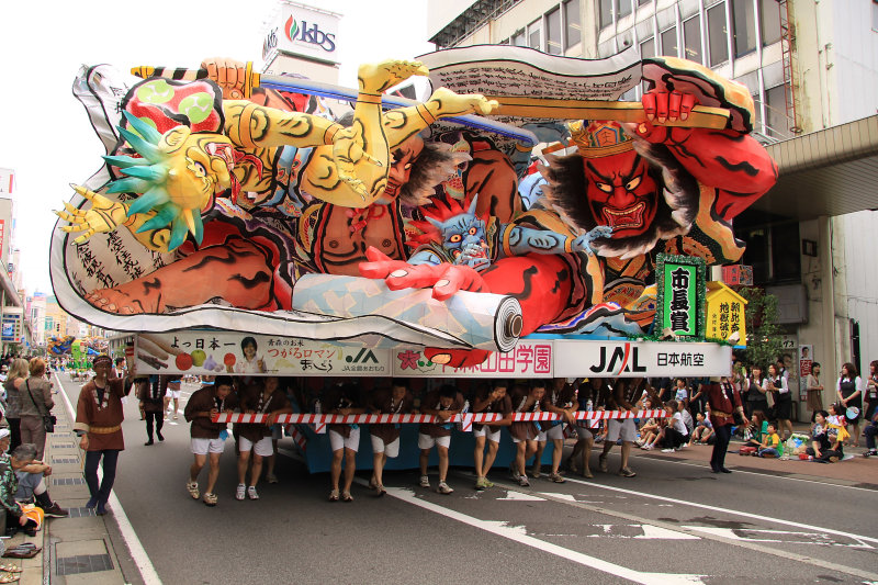 Giant nebuta float