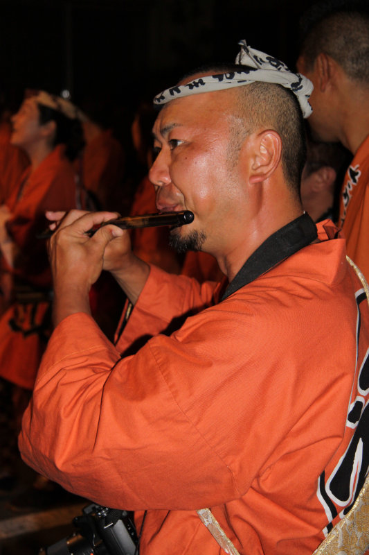 Flute player