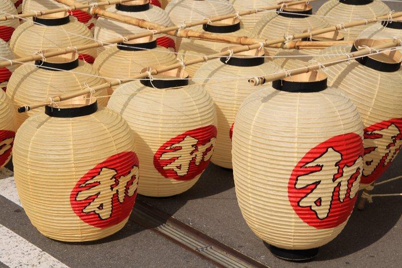 Kantō lantern detail