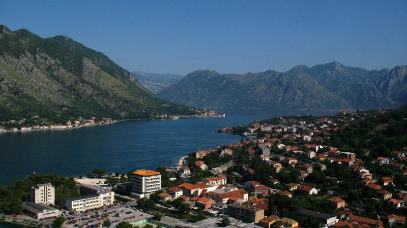 Kotor suburbs and Boka Kotorska