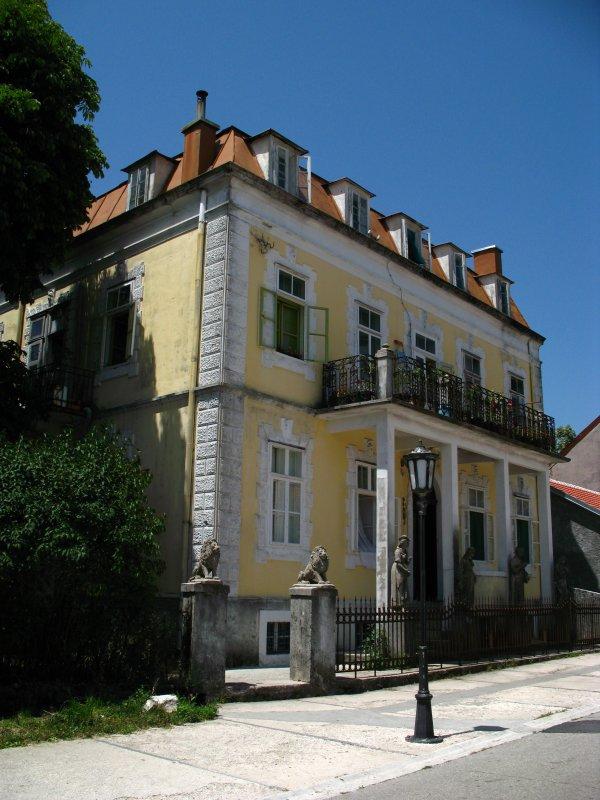 Graceful old villa