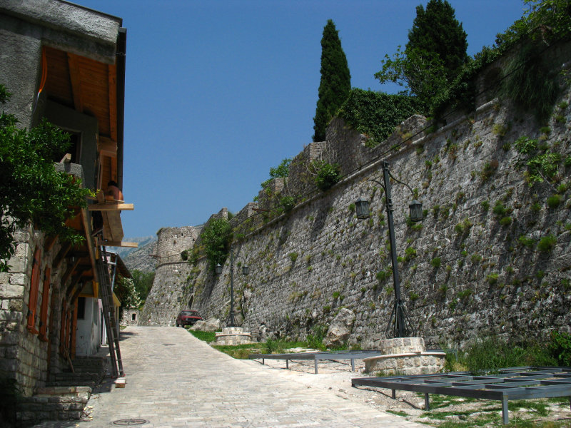 The outer walls of Stari Bar