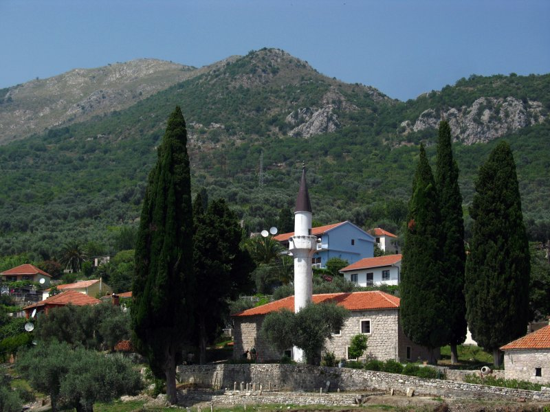 Mosque in the village outside Stari Bar