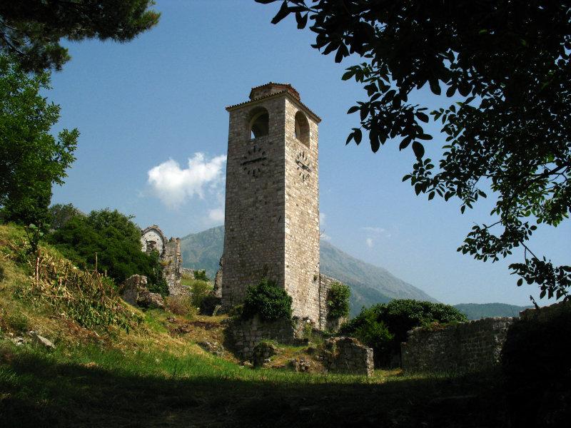 Old clock tower of Stari Bar