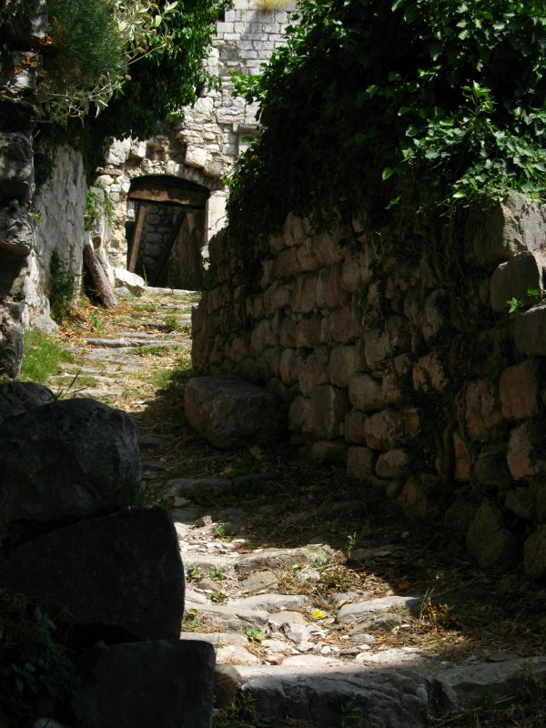 Eroded pathway