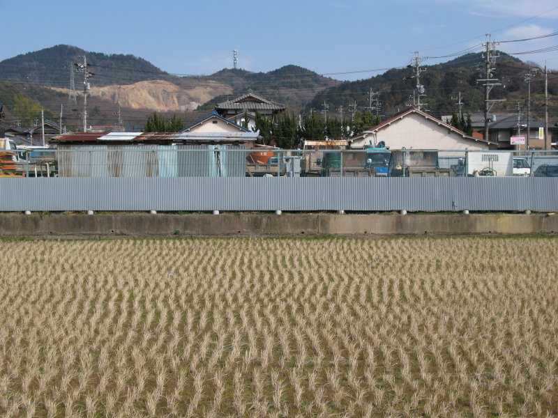 Typical Japanese small town scene
