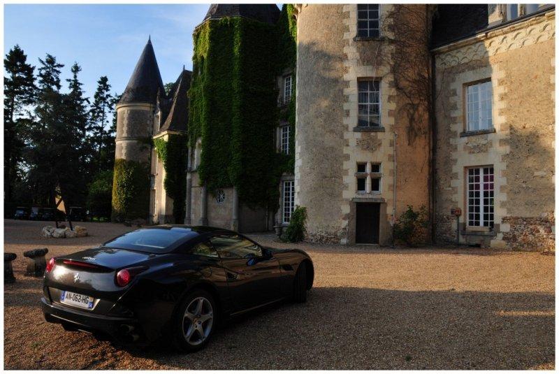 Ferrari at the Chateau des Sept Tours
