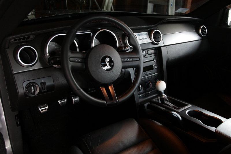 2007 GT500 Interior