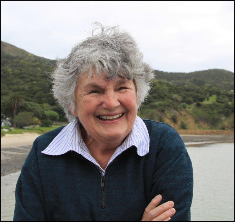 Shirley at Omapere