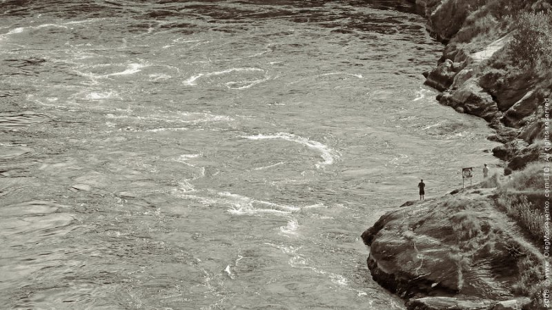 Fishing at the Maelstrom of Saltstraumen, Bodo area