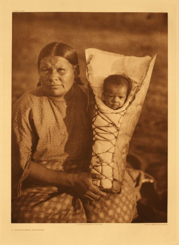 A Comanche mother