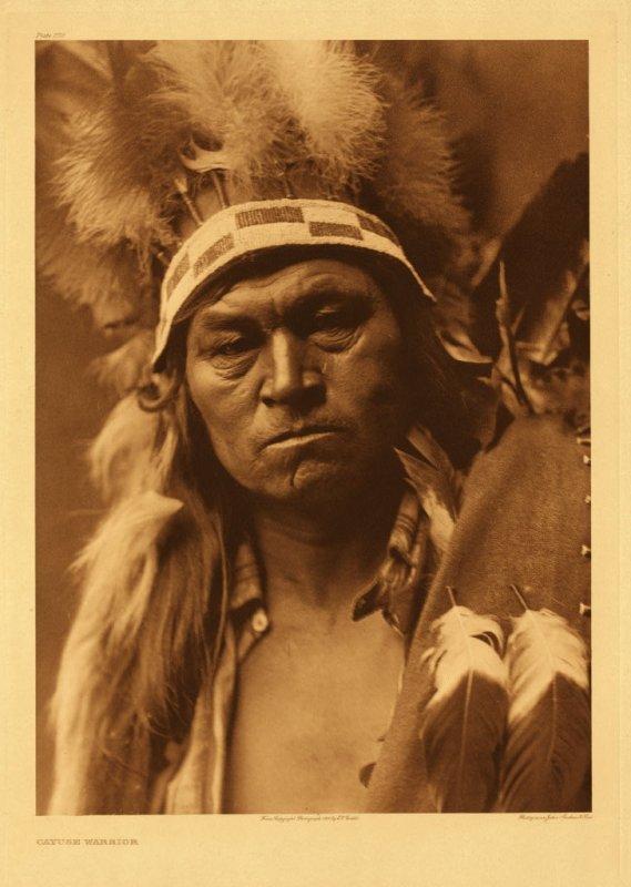 Cayuse warrior