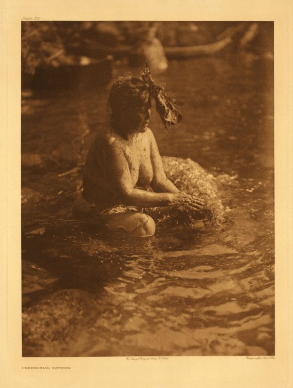 Ceremonial bathing