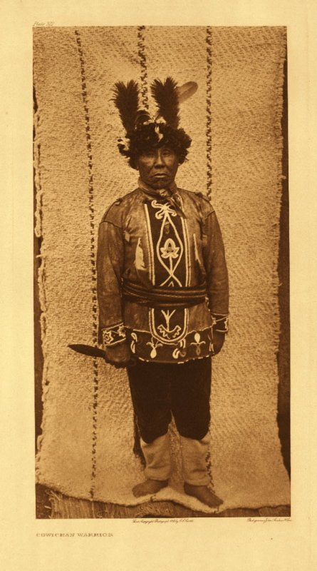 Cowichan warrior