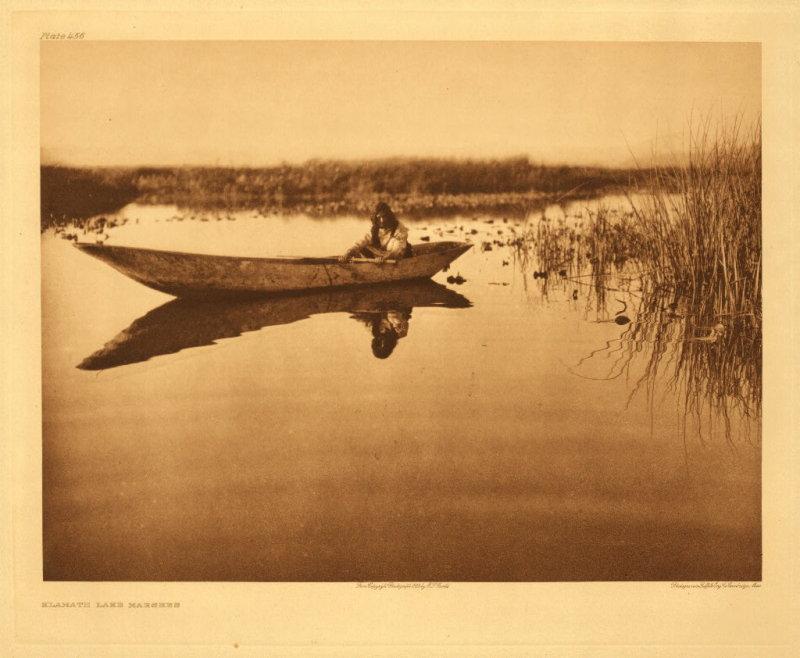 Klamath lake marshes