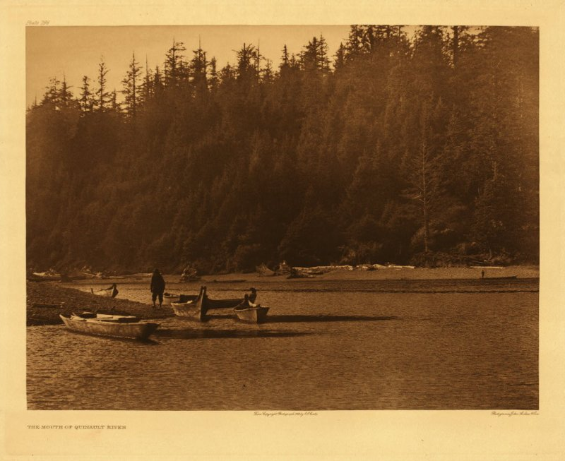 Mouth of Quinault River